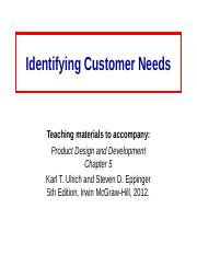Customer_Needs-Ch5.ppt