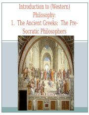 1. Ancient Greek Philosophy (revised).ppt
