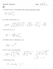 Worksheet 12 Solution
