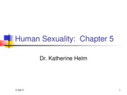 Human Sexuality Chapter 5