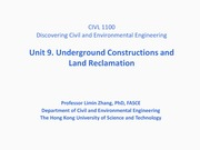 9.+Underground+Constructions+and+Land+Reclamation_CIVL1100+Lecture+9_27+Oct+2014