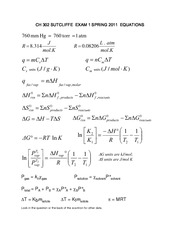 CH302  Exam 1 equations-1