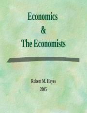 Economics and Economists.ppt
