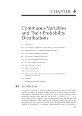 Chapter 4 Continuous Randomy Variable