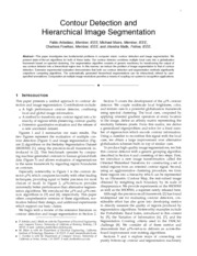 Contour Detection and Hierachical Image Segmentation