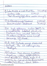 Water and Evolution Notes