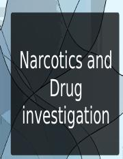 drugs and narcotics