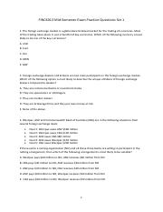 FINC6013 Mid-Semester Exam Practice Questions Set1 (revised)