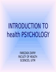 1b Introduction to Health Psychology.ppt