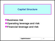 11-Capital-structure-FIN6406