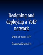 8-Designing and deploying a VoIP network (1)