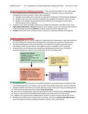 Chapter 4- Adjustments, Financial Statements