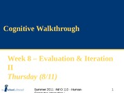 SUM11_Week 8b - Cognitive Walkthrough-1