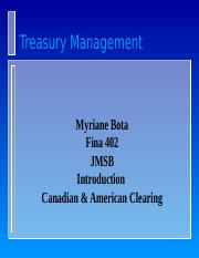 Class notes, Canadian  American Clearing.ppt