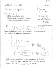 Lecture notes 19
