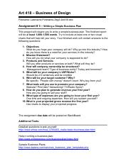 Project # 3 - Business Plan - Art 418.pdf