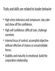 leadership chapter 2 part 5-6 Tam