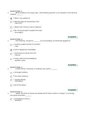 Quiz for ENG