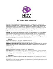 HDV Wellness Project Student Guide (2).docx