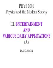 Lec 5-6_III. Entertainment and Various Daily Applications (A) [demos & simulations added].pdf
