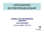 18 - Networked growth