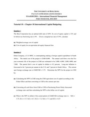 FINA01052383 - Tutorial 10 Problem Set