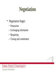 5 Power and Negotiation