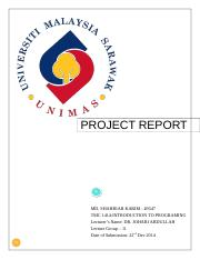 ITP Project Report.doc