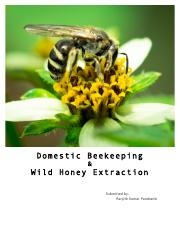Ranjith-AKRSPI- Beekeeping Project Final Report