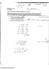quiz on standard deviation
