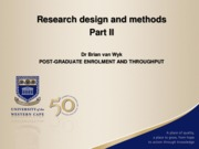 Research_and_Design_II