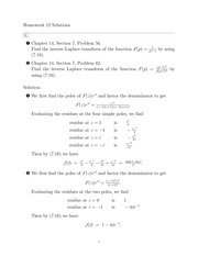 HW 12 Solutions