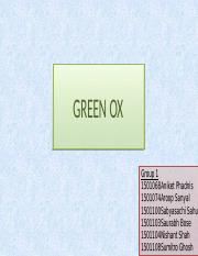 Green Ox_Group 1_Presentation.pptx