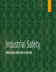 Summer 2016 Industrial Safety - Meeting 5(1).pptx