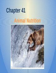 Chapter 41 - Animal Nutrition.pptx