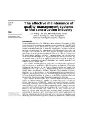 The effective maintenance of quality management System.pdf