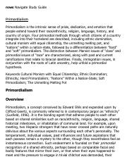Primordialism Research Paper Starter - eNotes.pdf