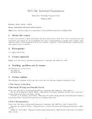 Tirole Theory Of Industrial Organization Pdf