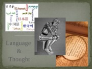 Dec 1 - Language and Thought - Student version