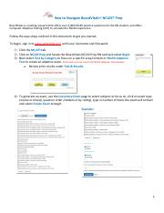 BoardVitals-ATI-Directions pdf - How to Navigate BoardVitalsTM NCLEX