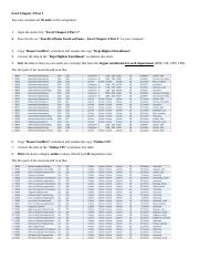In-Class Assignment - Excel Chapter 4 Part 1.docx