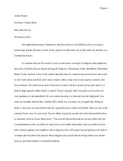 Adam Trypuc Written Assignment 1 Utilitarians reacted to the biblical view