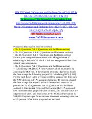 Ch. 9 Questions 7  8 Questions and Problems section