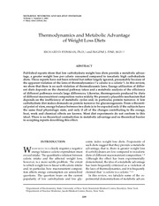 thermodynamics-and-metabolic-advantage-of-weight-loss-diets