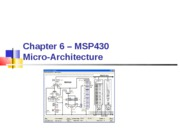 Chapter 06 - MSP430 Micro-Architecture