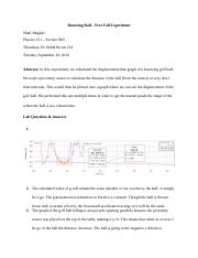 Bouncing Ball – Free Fall Experiment - Shafi Mughal.docx