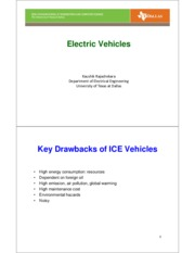 Topic 1B-Electric Vehicles