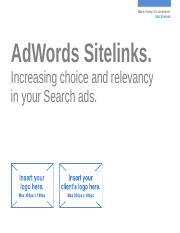 Search - Sitelinks