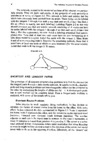 Shortest Path Networks