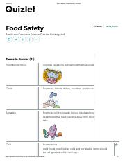 Food Safety Pdf